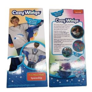 Cozy Wings Spaceship Snuggie Soft Arm Covers